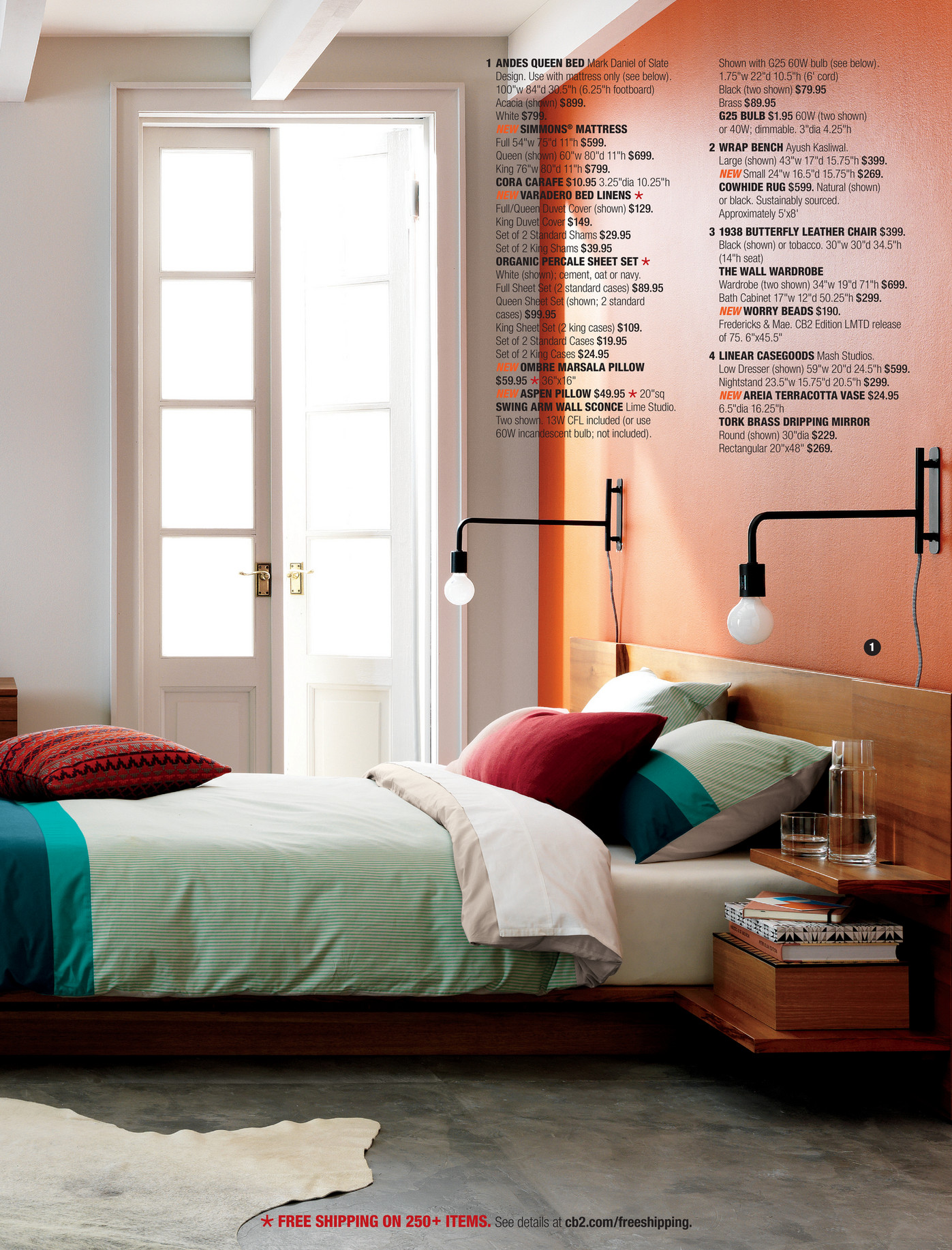 see details at cb2comfreeshipping cb2 swing arm brass wall