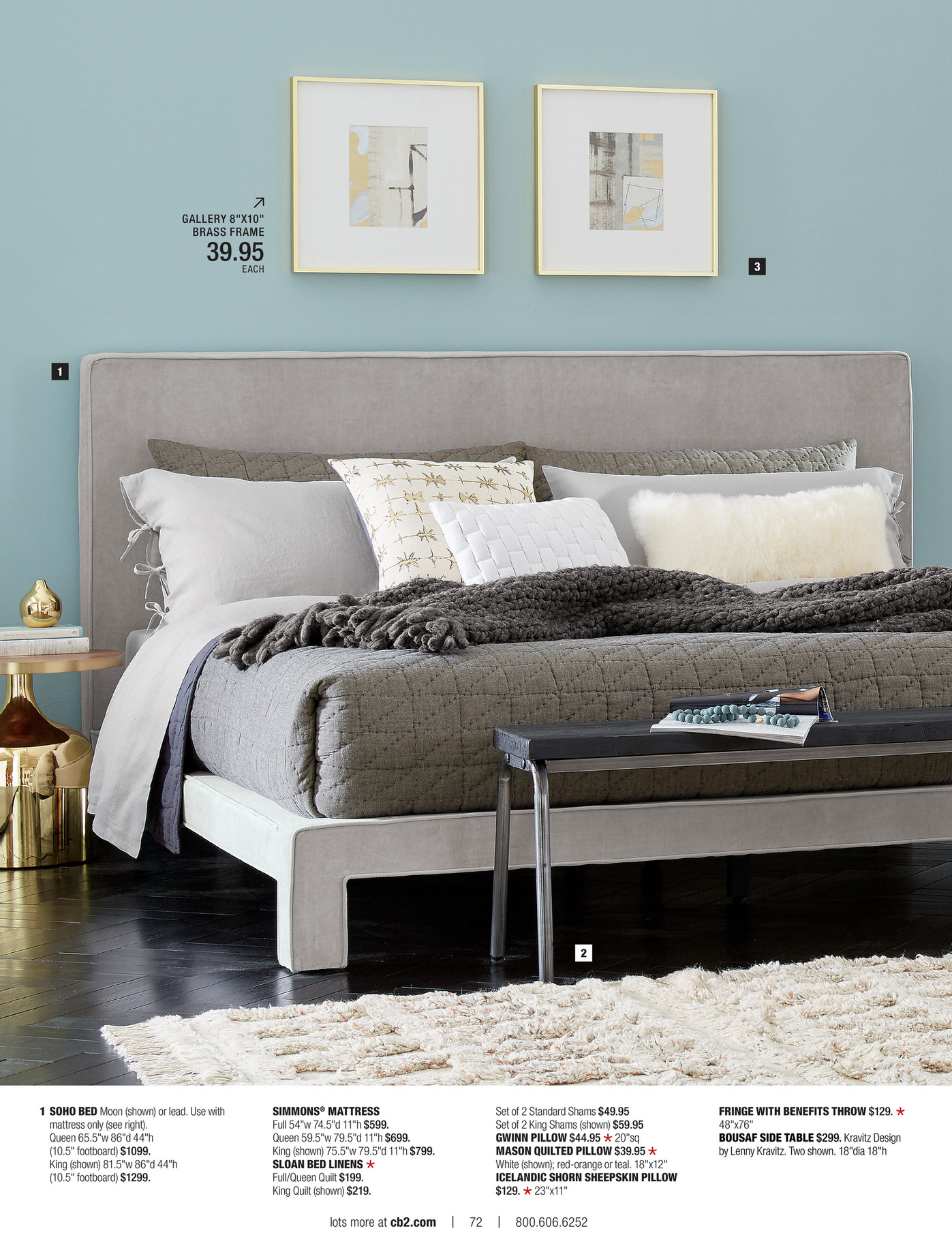 cb2 may catalog 2016 page 72 73 bedroom furniture cb2 peg