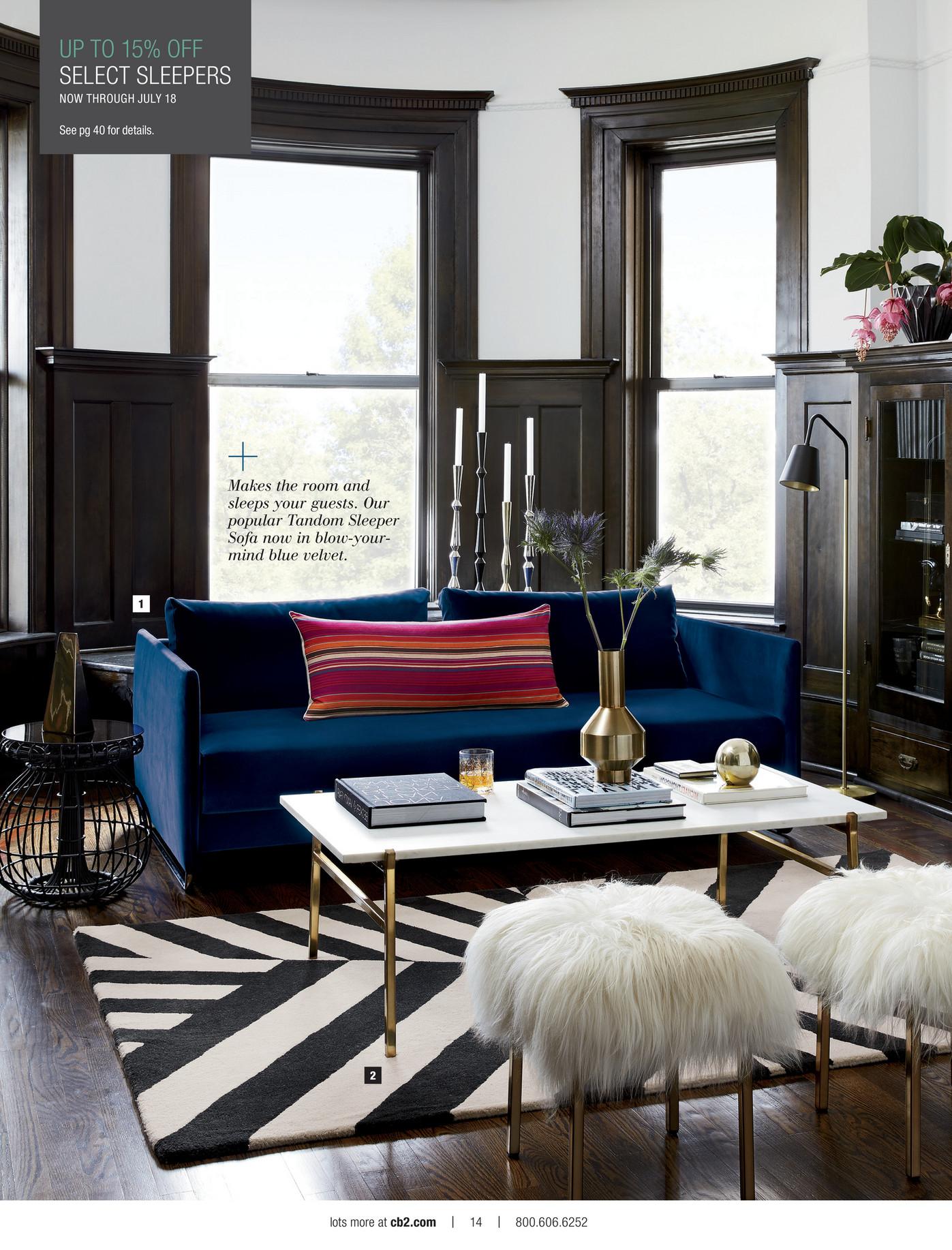 Tandem Sleeper Sofa Ftempo Inspiration