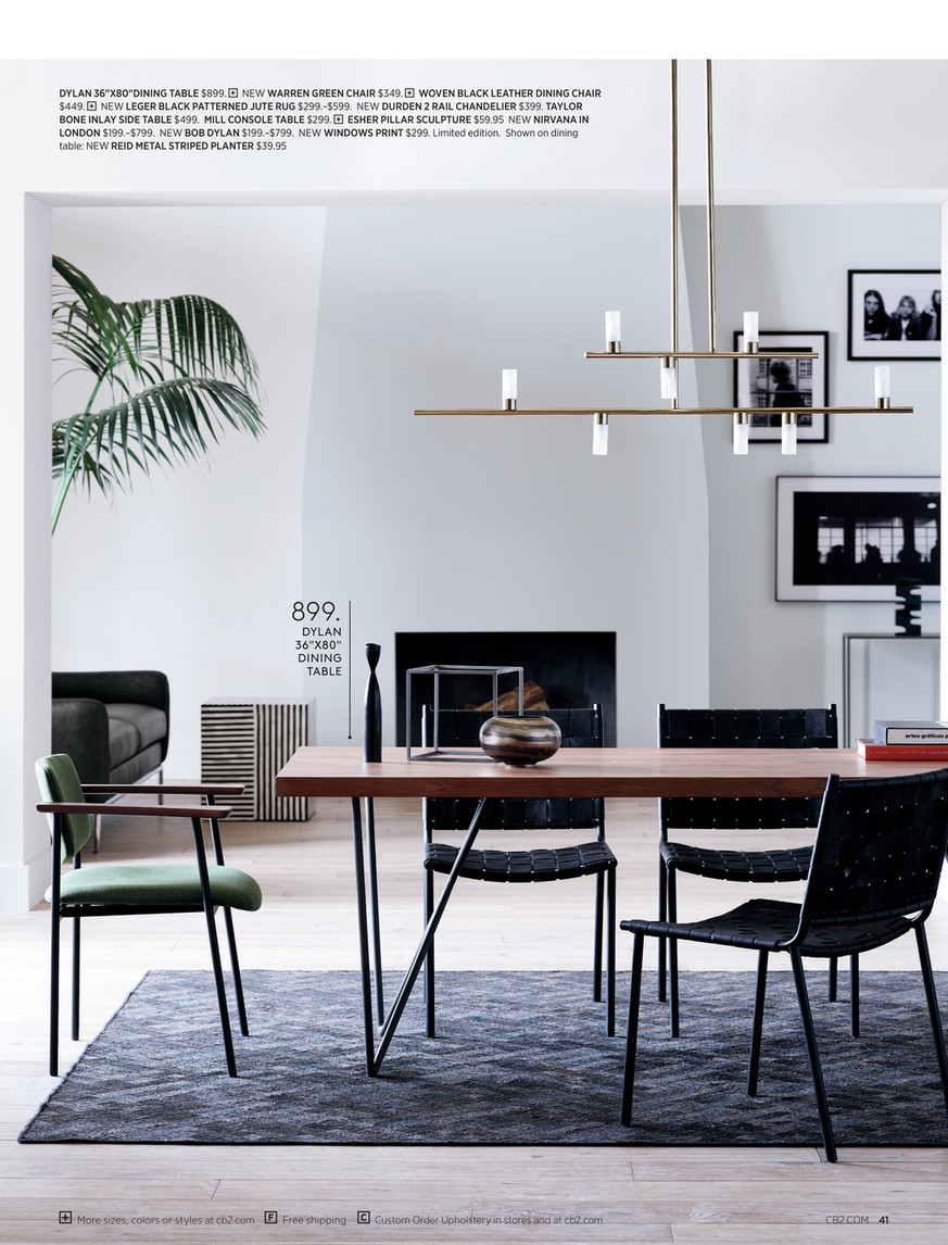 Cb2 August Catalog 2019 Faux Potted Fiddle Leaf Fig 7