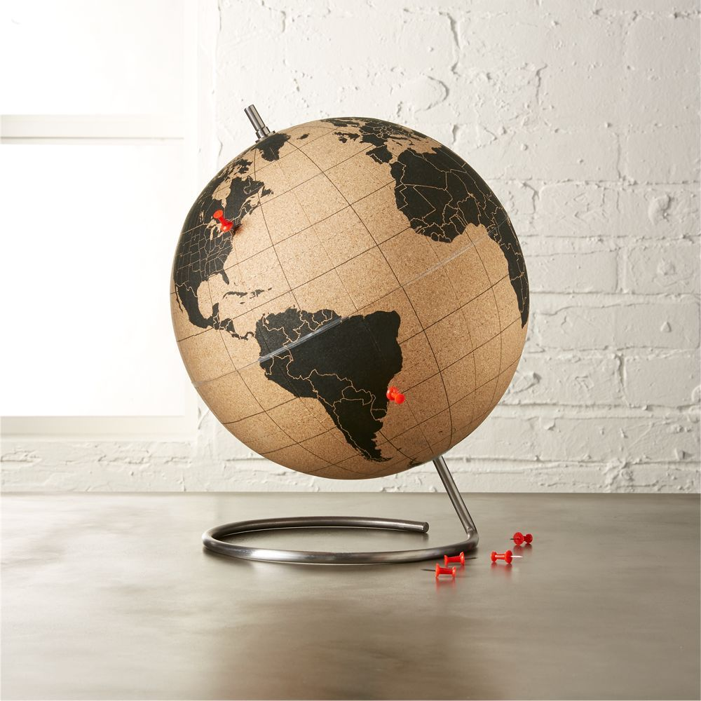 Image result for cb2 cork globe